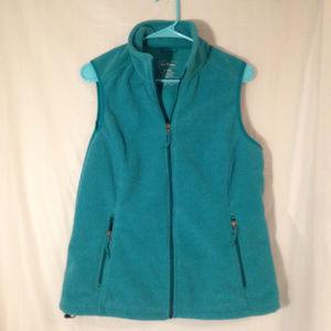 LL Bean Full Zip Fleece Vest